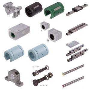 Linear Motion, Linear Bearings, Precision Rail Guides