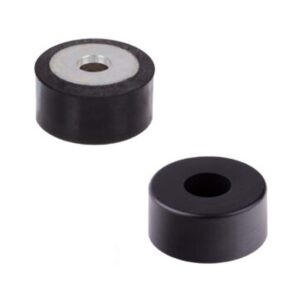 Rubber-Metal Buffers MGH, Hollow Design, with Mounting Bore