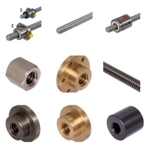 Trapezoidal Thread Spindles, Nuts and Ball Screw Drives