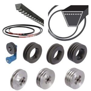 V-Belts, Pulleys, Accessories