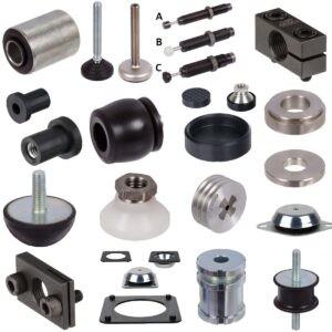 Machine Mounts, Rubber-Buffers, Dampers